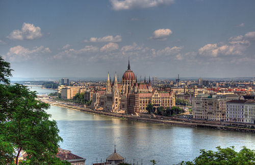 Budapest Parlament Building opt